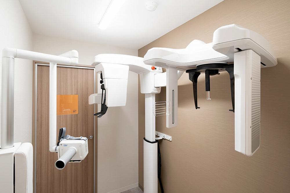 安全に親知らずを抜くために歯科用CTで撮影